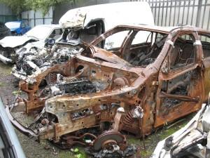Полная гибель автомобиля КАСКО